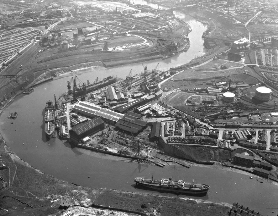 Sunderland on the River Wear