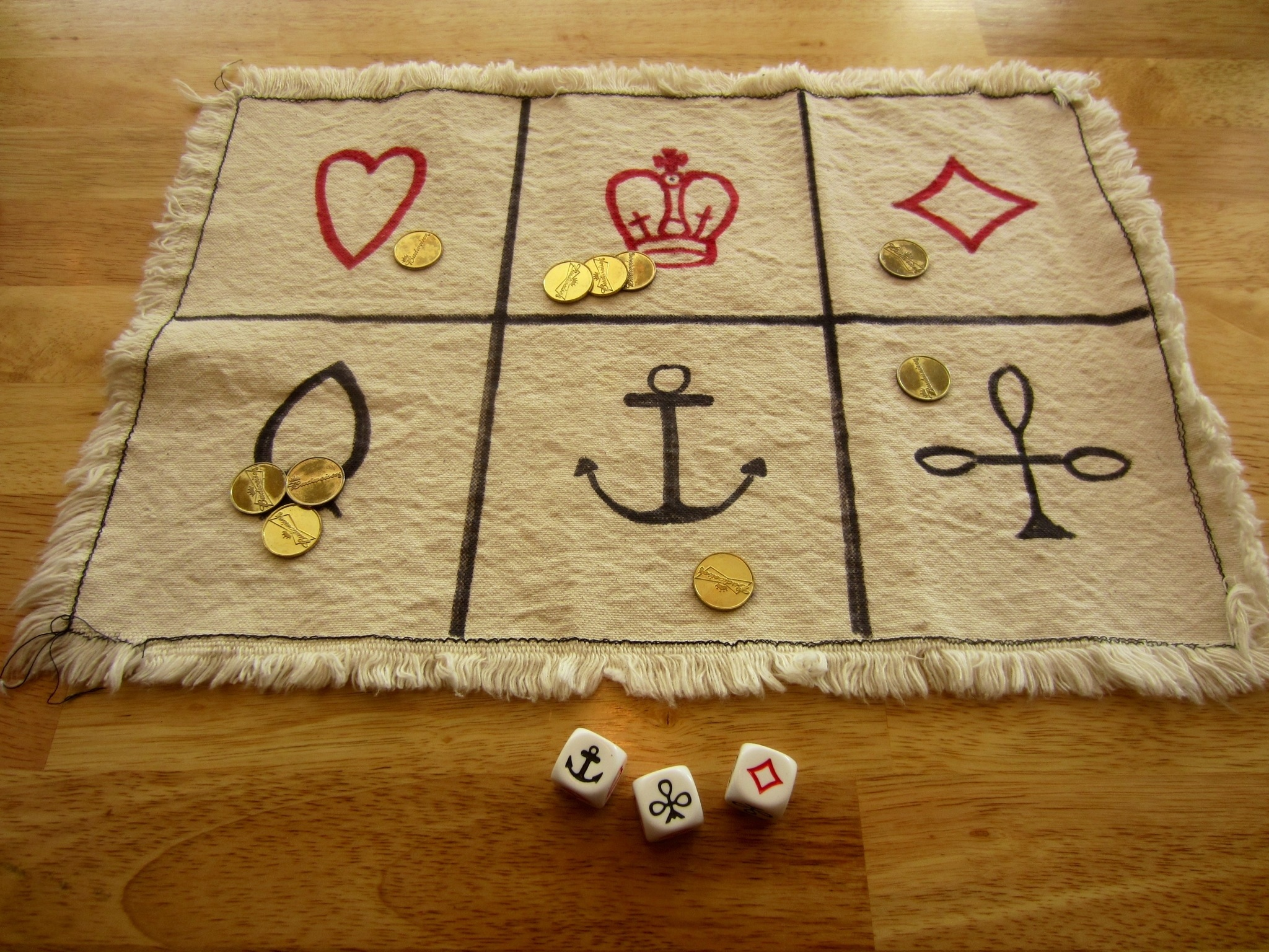 Crown and Anchor game