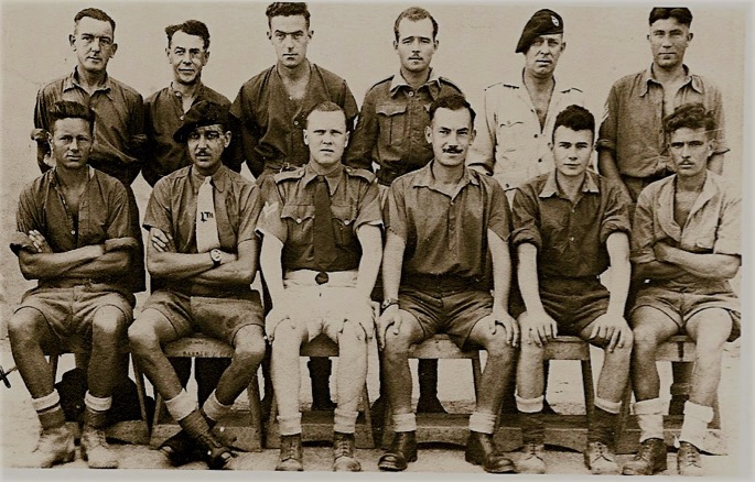 POW group in Italy, about 1943