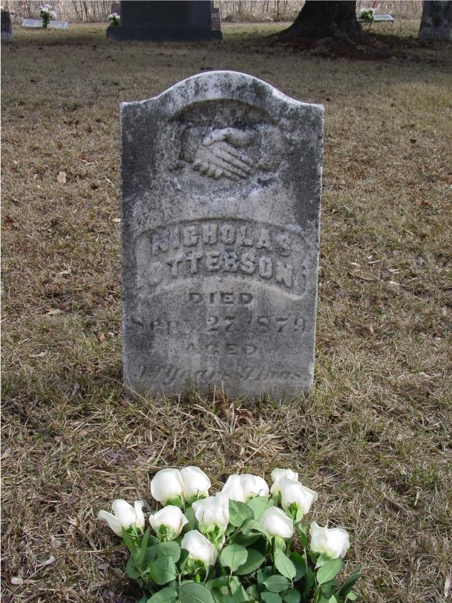 Otterson, Nicholas gravestone USA