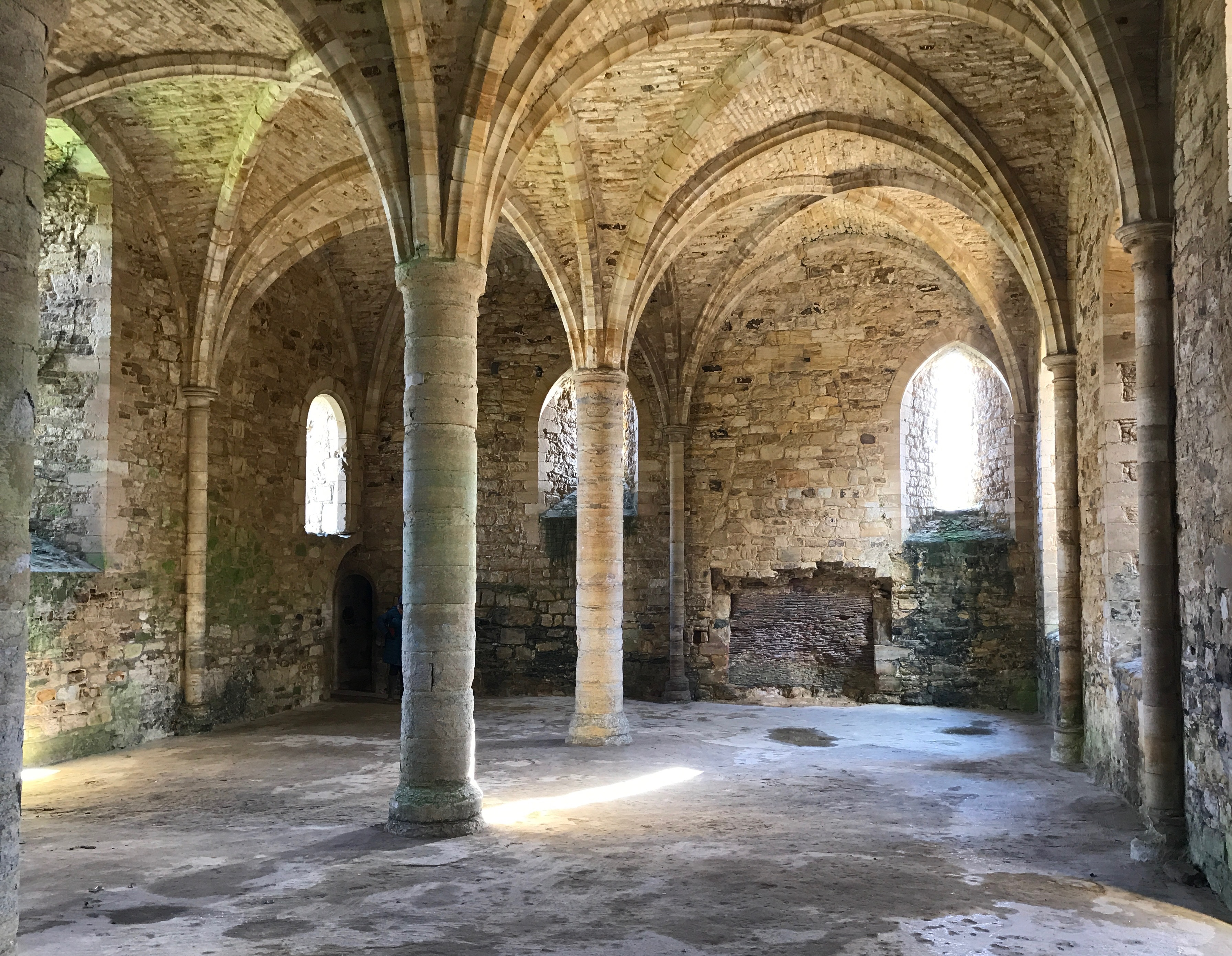 Part of Battle Abbey, Hastings