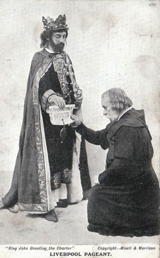 Liverpool charter King John