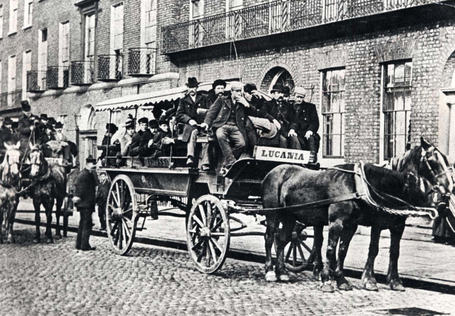 Liverpool carters, late 1800s
