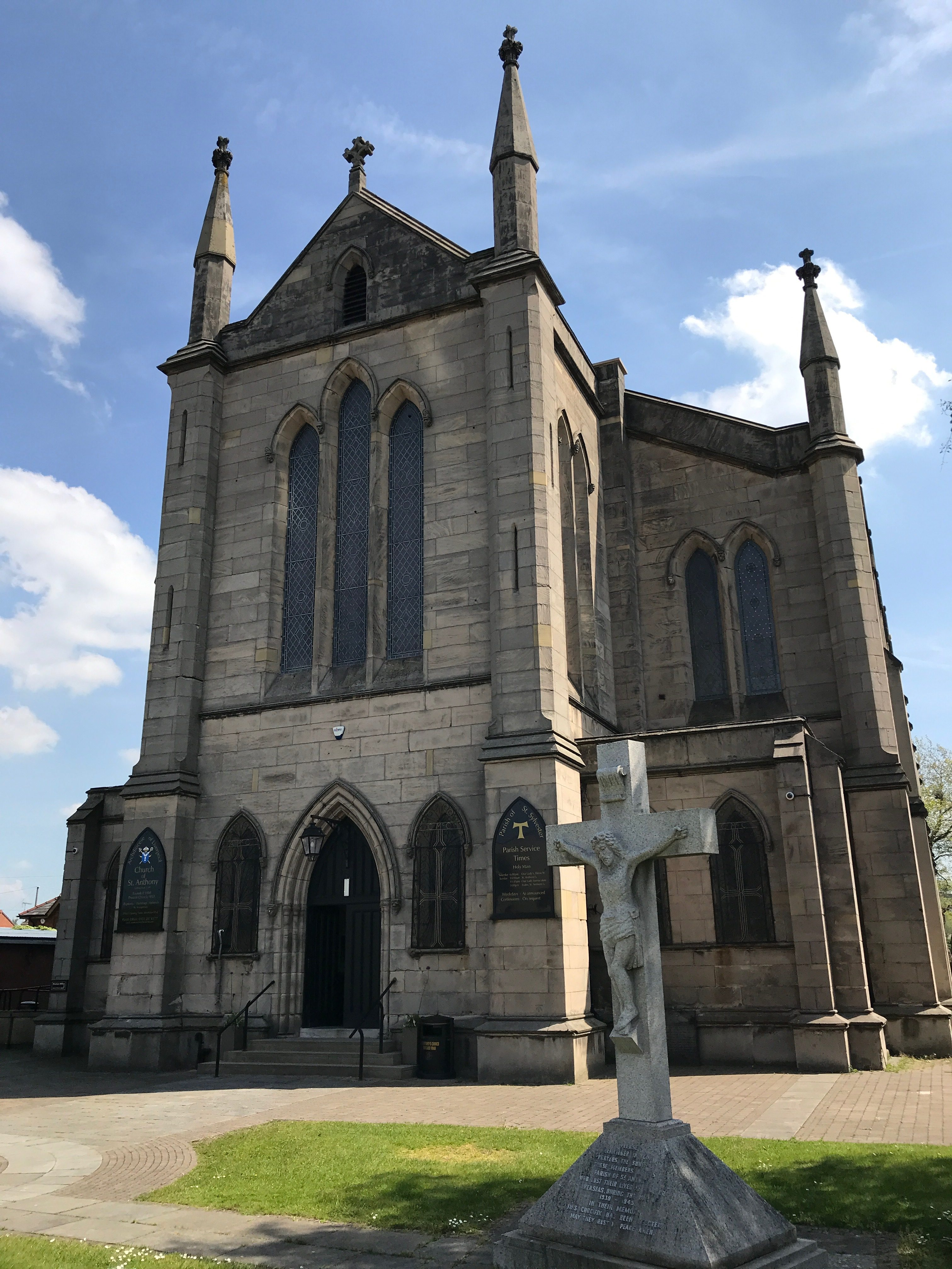 St. Anthyony's RC Church, Liverpool