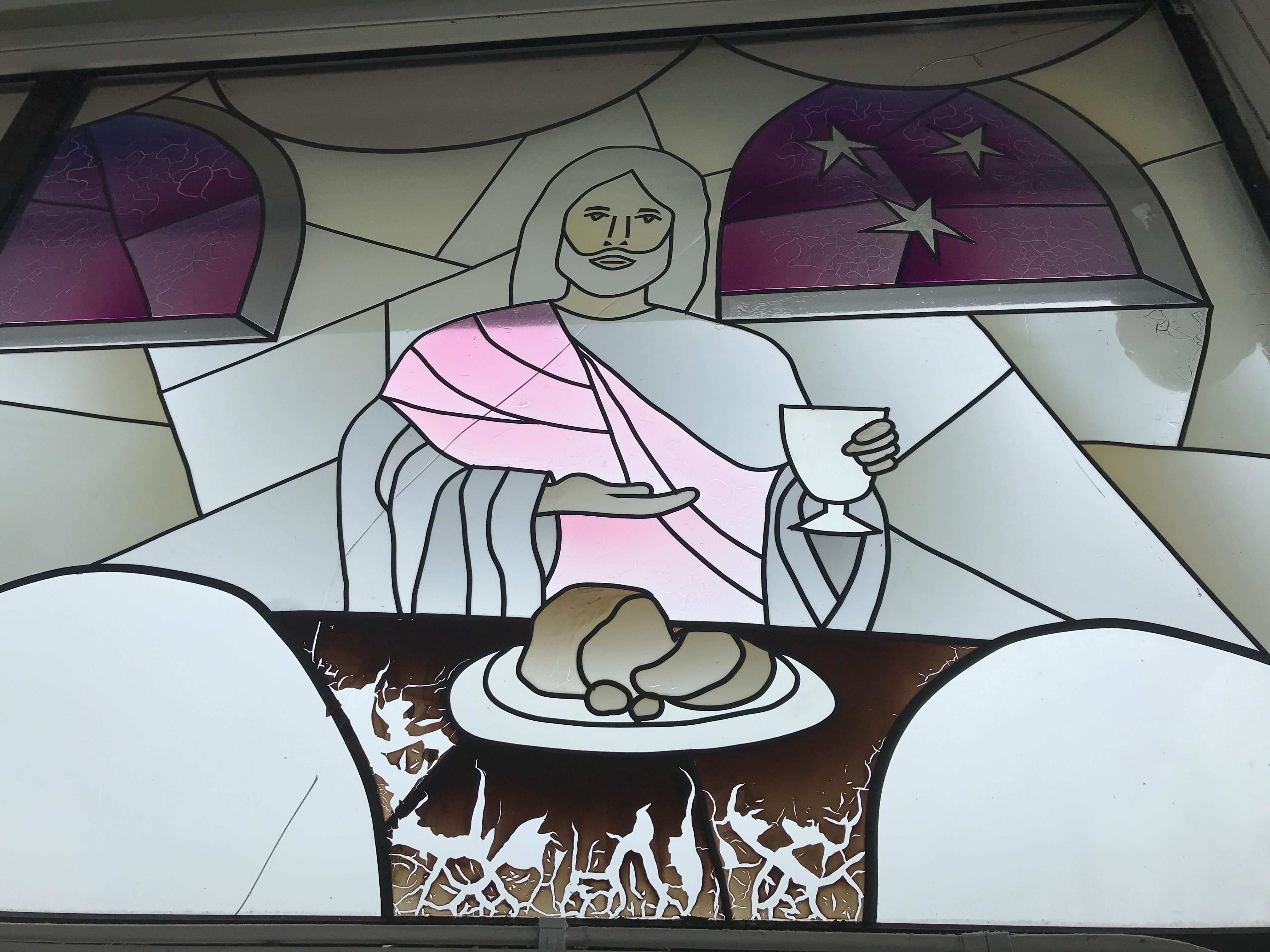 Window detail at Rock Hub church, Nottingham.