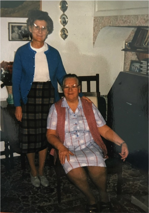 Doris Otterson and Sybil Warrington.