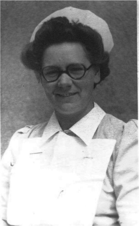 Doris Otterson, nurse.
