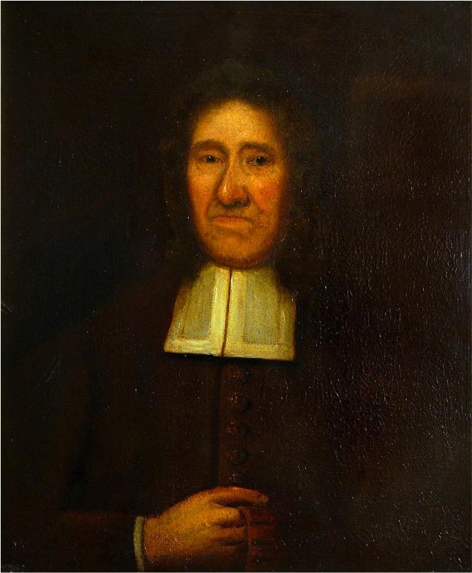 William Dowsing portrait in the Wolsey Art Gallery, Ipswich