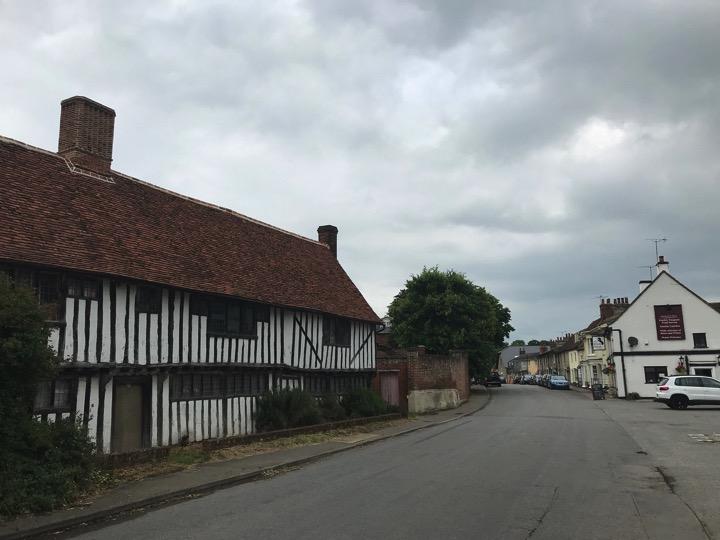 Stratford St Mary village, Suffolk